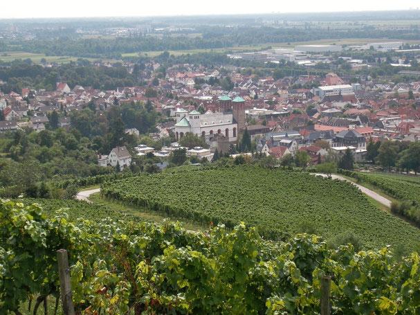 Panorama Bensheim